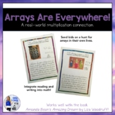 Arrays Are Everywhere Math/Writing Activity