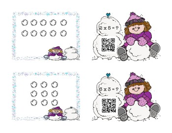 "Arrays Are ""Snow"" Much Fun - with QR Codes"