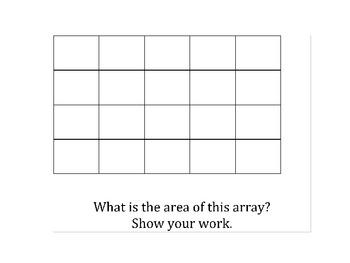 Arrays & Area