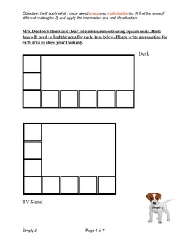 Arrays / Areas: Group Task (Activity)