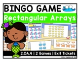 2.OA.4 - Arrays BINGO and Exit Tickets