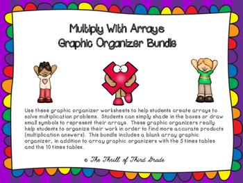Multiplication: Arrays Bundle
