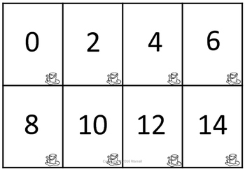 Arrays FREEBIE Multiplication Pelmanism game for 2x table!!