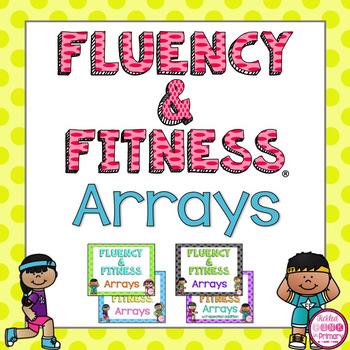 Arrays Fluency & Fitness Brain Breaks Bundle