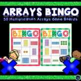 Arrays Game   Multiplication Arrays Bingo Games   Arrays Math Center