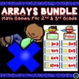 Arrays Games | Multiplication Arrays Games Bundle | Arrays Math Centers