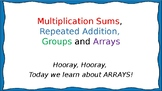 Arrays, Groups, Multiplication and Repeated Arrays