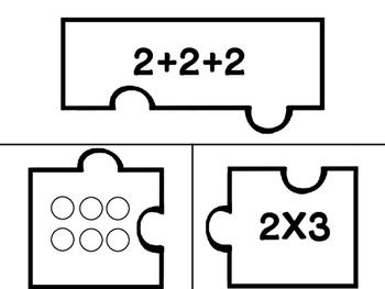 2.OA.4 Matching Activity