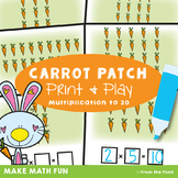 Arrays Math Center Activity - Carrot Patch