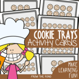 Arrays Math Center Activity - Cookie Trays