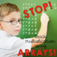 Arrays Math create math sentences