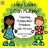 Arrays - Multiplication - Hey Look! I Can Multiply! Tasks, Games, and MORE!