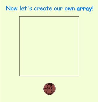 Arrays - Multiplication Arrays SmartBoard Lesson