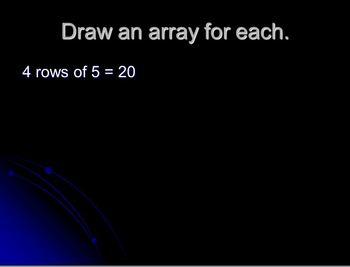 Arrays & Multiplication Powerpoint