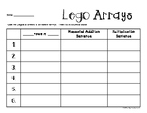 Arrays Multiplication Practice: Lego Activity
