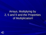Arrays, Multiplication Properties and Patterns