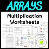 Arrays Multiplication Worksheets