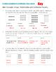 Arrays, Multiplication and Distributive Property - Workshe