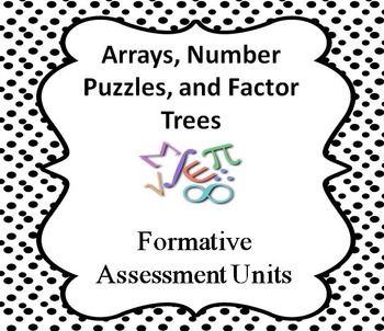 Arrays, Number Puzzles, and Factor Trees