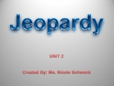 Arrays, Number Stories, Extended Facts, and Frames and Arrows Jeopardy Review