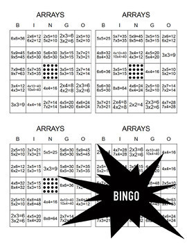 Arrays Activities