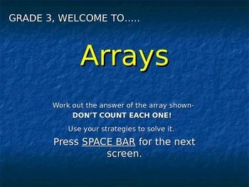 Arrays- Powerpoint