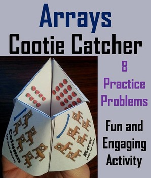 Arrays Practice 1st 2nd 3rd Grade Repeated Addition Activity