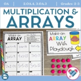 Arrays Printables, Task Cards, and Center Activities