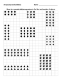 Arrays - Repeated Addition