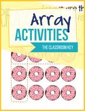 Arrays Activities - Printable or Google Classroom 2.OA.C.4