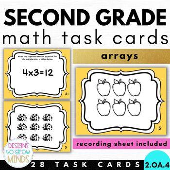 2.OA.4 Task Cards