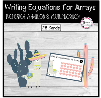 Arrays- Repeated Addition and Multiplication