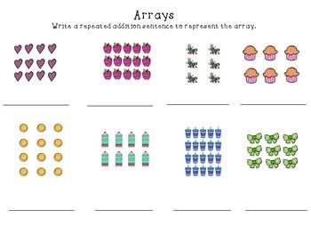 Arrays Review