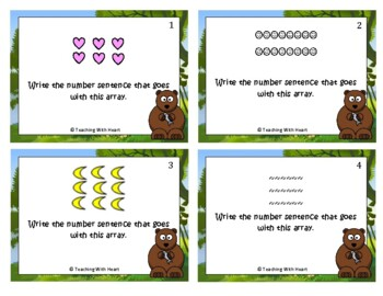 Arrays Scoot Activity/Task Cards