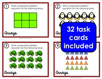 Arrays Task Cards