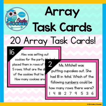 Array Task Cards