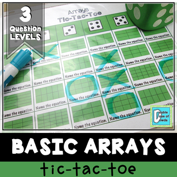 Arrays Tic-Tac-Toe Game