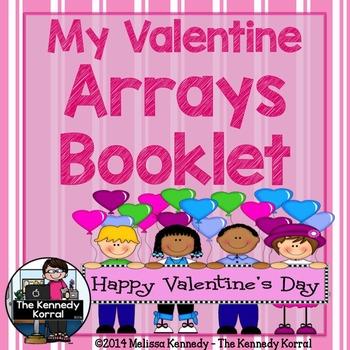Valentine Arrays Booklet {Arrays, Student Responses & Key}