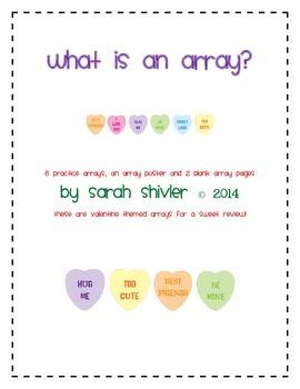 Arrays: Valentines Day Style