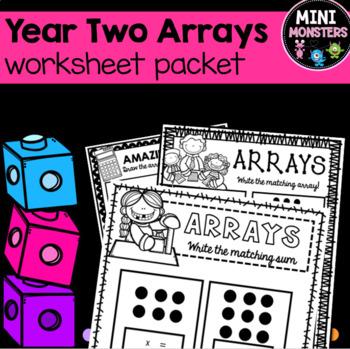Arrays Worksheets Second Grade
