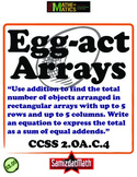 Arrays and Addition Equations: Common Core Aligned and Certified (NOT!)