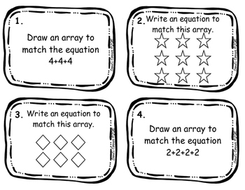 Arrays and Equations: Introduction to Multiplication