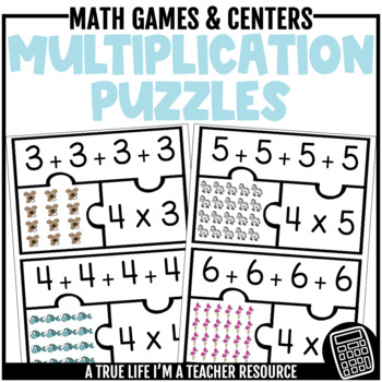 Arrays and Multiplication Puzzles