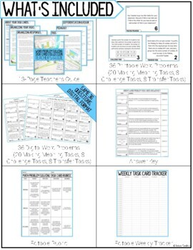 Arrays and Multiplication - Write To Explain Math Task Cards