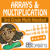 Arrays and Multiplication pgs. 5 - 7 (CCSS)