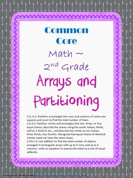 Arrays and Partitioning Assessment Packet