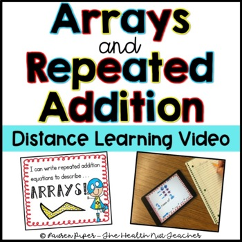 Arrays and Repeated Addition Flipped Classroom Video