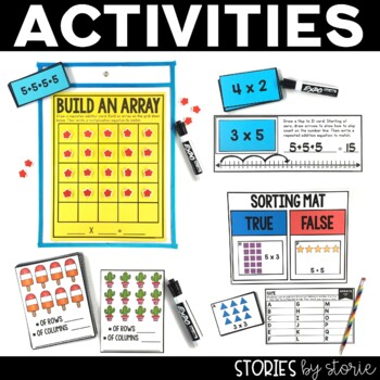 Arrays Worksheets, Games, and Activities