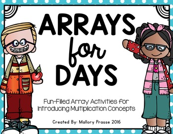 Arrays for Days: Introducing Repeated Addition and Multiplication