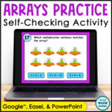 Click and Check Digital Practice of Multiplication Arrays